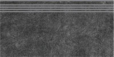 Фронтальная ступень Королевская дорога SG615000R\GR черный обрезной 30х60 Kerama Marazzi
