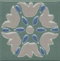 Вставка Kerama Marazzi Анвер 8 зеленый 4.85x4.85 OS/B178/21052