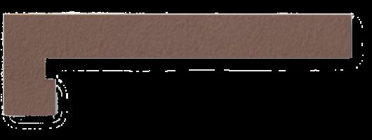 Плинтус для ступеней левый Venatto Texture Zanquin izq. Grain Tropico 19x42.4