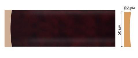 Молдинг Decomaster D045-62 ДМ (50x8x2400 мм)