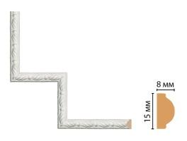 Декоративный угловой элемент Decomaster 130-1-20 (200x200 мм)