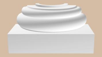 Полуоснование Decomaster 90024-6H (220x410x205 мм)