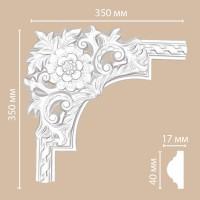Угол Decomaster DP8050A (350x350x30 мм)