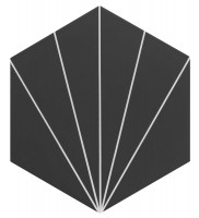 Керамогранит Realonda Ceramica Venus Black 28.5x33