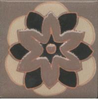 Вставка Kerama Marazzi Анвер 10 коричневый 4.85x4.85 OS/C176/21052