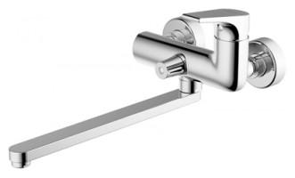 Смеситель для ванны Bravat Vega F6119177CP-01L универсальный Хром