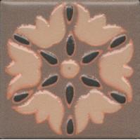 Вставка Kerama Marazzi Анвер 12 коричневый 4.85x4.85 OS/C178/21052