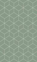 Плитка настенная 010100001098 Веста зеленый низ 02 40x25 Шахтинская плитка