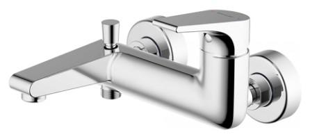 Смеситель для ванны Bravat Vega F6119177CP-01 Хром