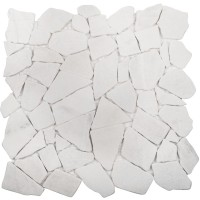 Мозаика Starmosaic Broken Split White Matt 30.5x30.5