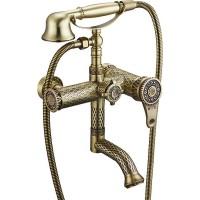 Смеситель для ванны ZorG Antic A 400W-BR Бронза