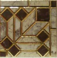 Декоративная вставка Infinity Ceramic Tiles Rimini Taco Beige 15x15