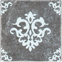 Декор Stone4home Marble Black Motif 3 10x10