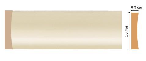 Молдинг Decomaster D045-61 ДМ (50x8x2400 мм)