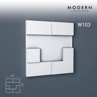 Панель декоративная Orac Decor Ulf Moritz W103 (33.3.x2.9x33.3 см)