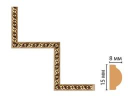 Декоративный угловой элемент Decomaster 130-1-43 (200x200 мм)