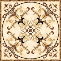 Панно Infinity Ceramic Tiles Ruskin Beige Roseton 120x120