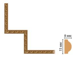 Декоративный угловой элемент Decomaster 130-1-4 (200x200 мм)