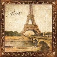 Декор Style Tiles Marco Metalica A Paris 20x20