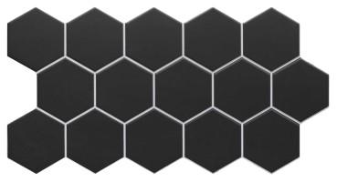 Керамогранит Realonda Ceramica Hex Black 26.5x51