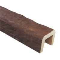 Декоративная балка Рустик (дуб темный) Decomaster 370 (190x170x3000 мм)