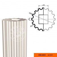 Колонна Decomaster КЛВ-205/3 (2000x205x205 мм)
