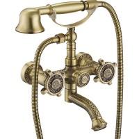 Смеситель для ванны ZorG Antic A 2001W-BR Бронза
