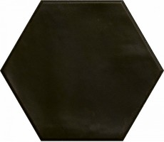 Керамогранит Ribesalbes Ceramica Hope Nero Graphito Hex Matt 15x17.3 PT03153