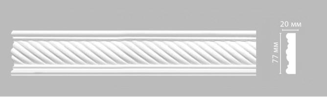 Молдинг Decomaster-3 DT 9060A (77х20х2400 мм)