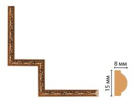 Декоративный угловой элемент Decomaster 130-1-1223 (200x200 мм)