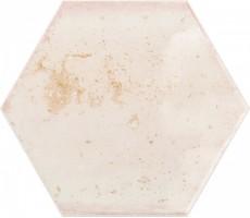 Плитка Ribesalbes Ceramica Hope Rose Hex Glossy 15x17.3 настенная PT03133