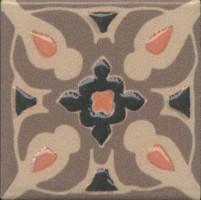 Вставка Kerama Marazzi Анвер 11 коричневый 4.85x4.85 OS/C177/21052