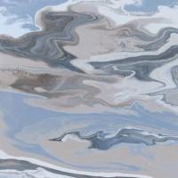 Керамогранит Codicer Ebru Blue 66x66