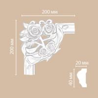 Угол Decomaster DP304D (200x200x20 мм)
