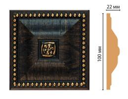Вставка цветная Decomaster D209-1 (100x100x22 мм)