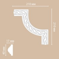 Угол Decomaster DP-8050B (210x210x20 мм)