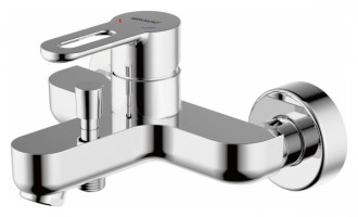Смеситель для ванны Bravat Stream-D F637163C-B Хром