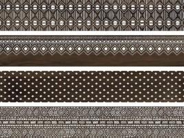 Керамогранит Про Вуд коричневый декорированный обрезной DL510400R 20x119.5 Kerama Marazzi