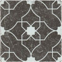 Декор Stone4home Marble Black Motif 7 10x10