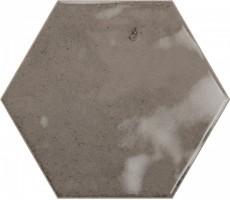 Плитка Ribesalbes Ceramica Hope Espresso Hex Glossy 15x17.3 настенная PT03130