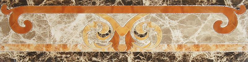 Бордюр Infinity Ceramic Tiles Dell Imperatore Cenefa Light 15x60