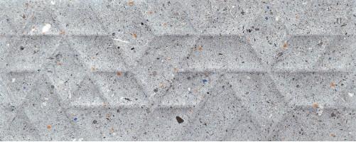 Плитка Tubadzin Dots Graphite Struktura 29.8x74.8 настенная