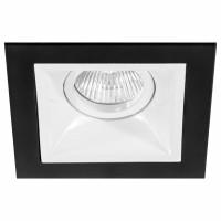 Комплект из светильника и рамки Lightstar Domino Quadro MR16 (214517+214506) D51706