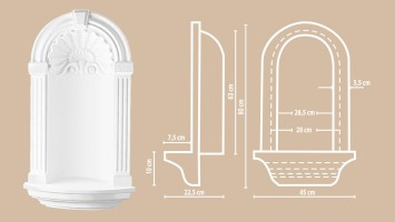 Ниша Decomaster DNH01 (800x450x225 мм)