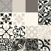 Декор Tubadzin Beat of White 16-elementowy Patch A 59.8x59.8