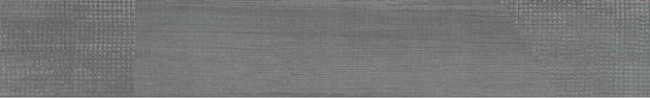 Керамогранит Kerama Marazzi Спатола серый тёмный обрезной 13x80 DD732700R