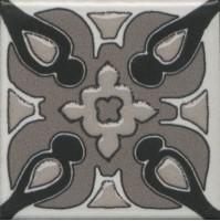 Вставка Kerama Marazzi Анвер 3 серый 4.85x4.85 OS/A177/21052