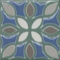 Вставка Kerama Marazzi Анвер 5 зеленый 4.85x4.85 OS/B175/21052