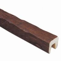 Декоративная балка Рустик (дуб темный) Decomaster 145 (120x120x3000 мм)