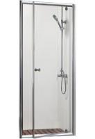 Душевая дверь Bravat Drop 80x200 BD080.4110A Профиль хром, стекло прозрачное